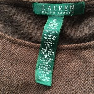 Ralph Lauren Dresses - Ralph Lauren career dress brown cotton blend M